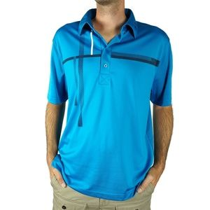 Under Armour Mens Polo Shirt Size XL Loose Fit